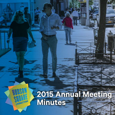 2015 Annual Meeting Minutes